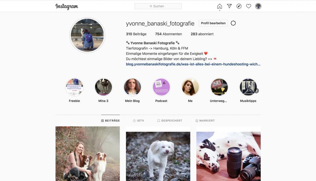 social media für fotografen